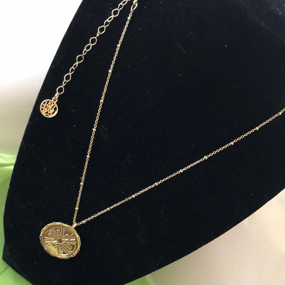 Lilly Pulitzer charm necklace